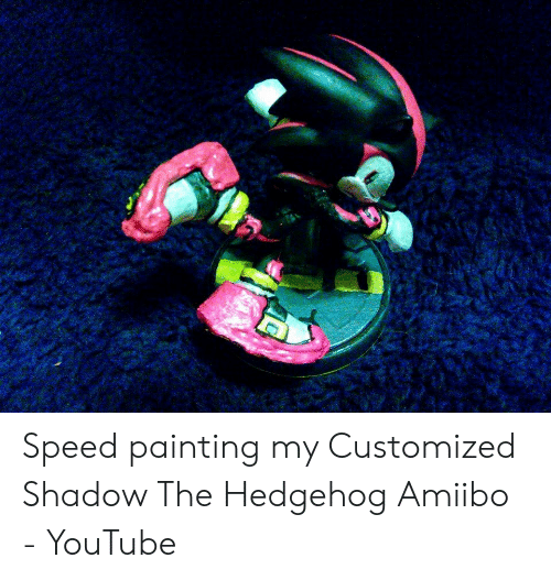 25 Best Memes About Shadow The Hedgehog Amiibo Shadow The
