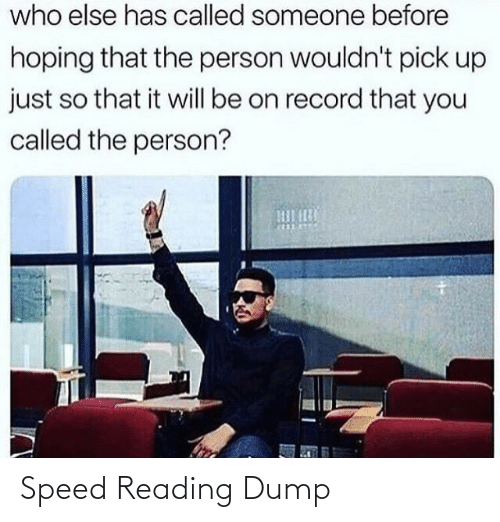 reading: Speed Reading Dump