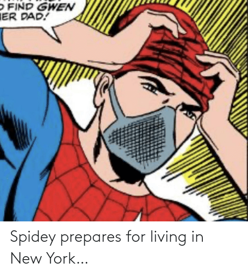 york: Spidey prepares for living in New York…