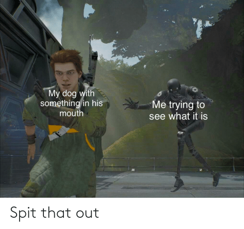 spit: Spit that out