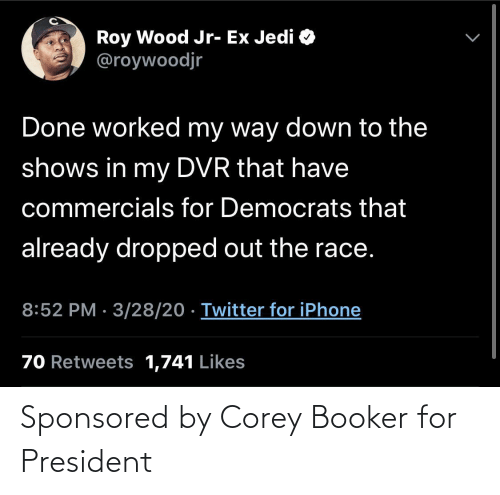 For President: Sponsored by Corey Booker for President