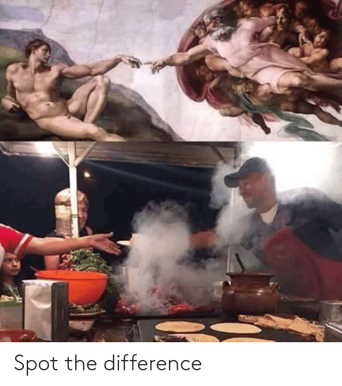 spot: Spot the difference