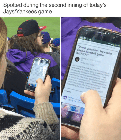 Gaming Game: Spotted during the second inning of today's  Jays/Yankees game  game