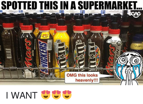 heavenly: SPOTTED THIS IN A SUPERMARKET  NELW  G OMG this looks  heavenly!!! I WANT 😍😍😍