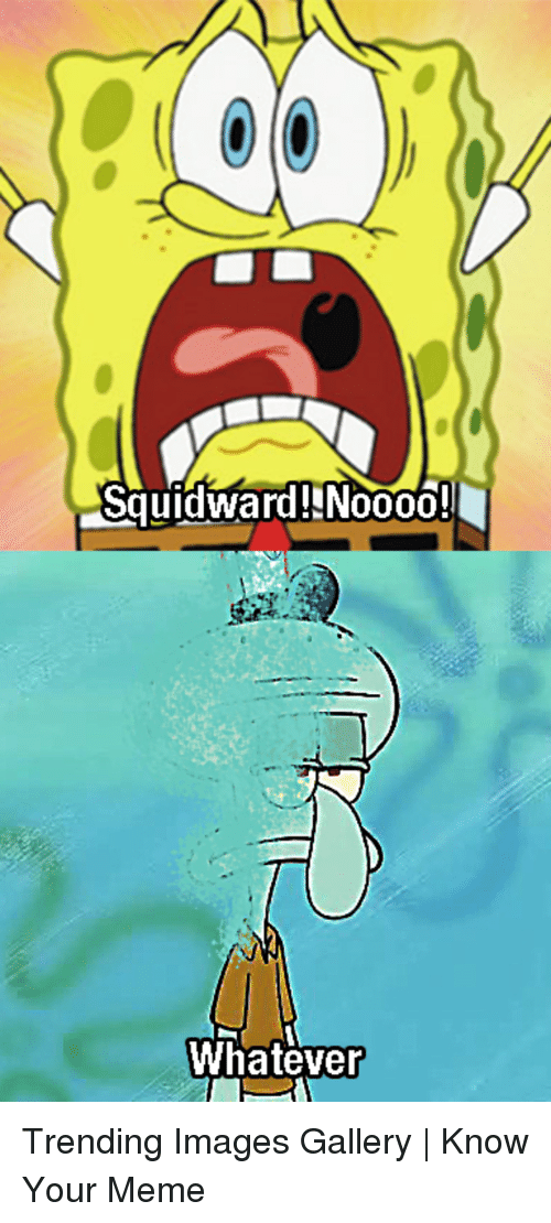 know your meme: Squidward!NN0000!  Whatever Trending Images Gallery   Know Your Meme
