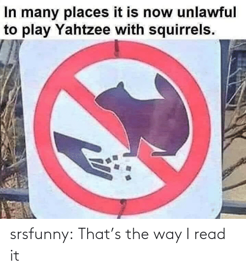 Thats: srsfunny:  That's the way I read it