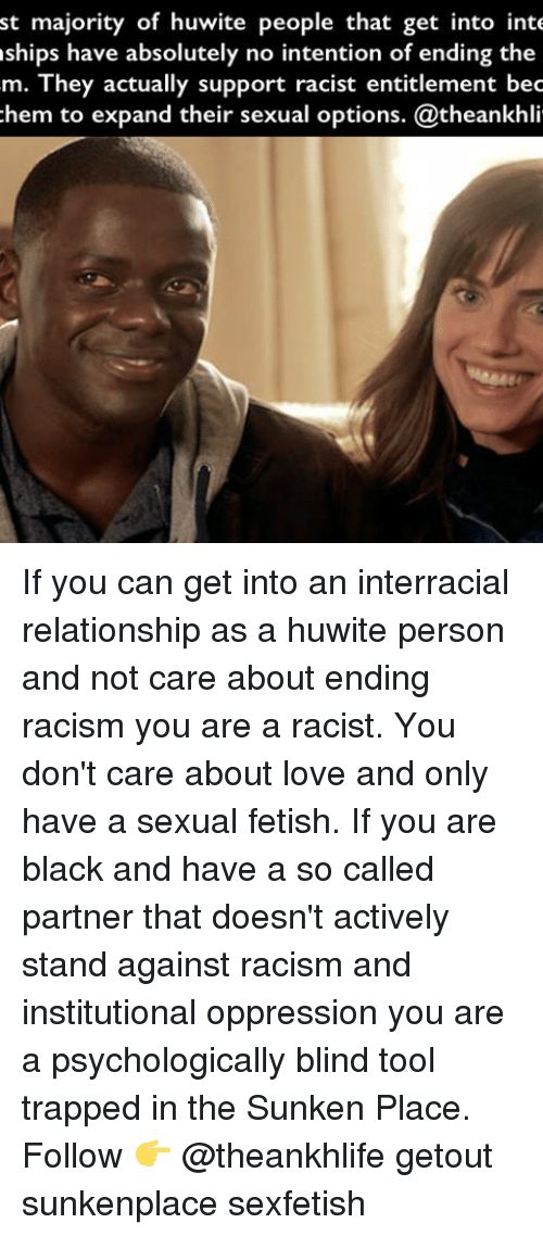 Racist inter racial sex