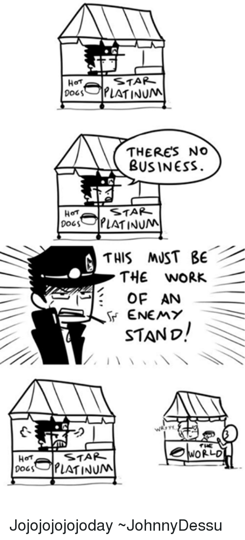 Must Be The Work Of An Enemy Stand