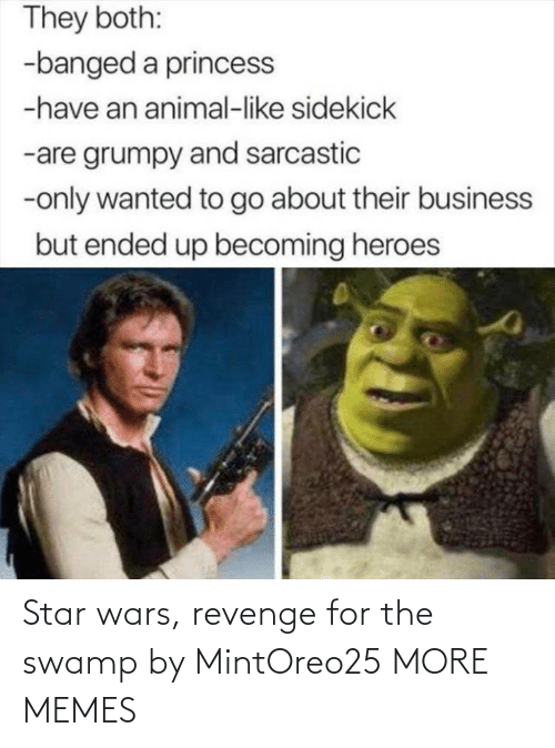 Revenge: Star wars, revenge for the swamp by MintOreo25 MORE MEMES