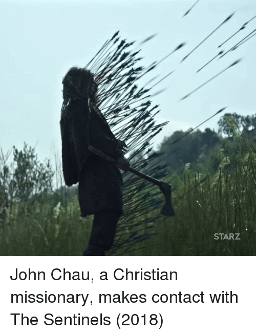 Starz: STARZ John Chau, a Christian missionary, makes contact with The Sentinels (2018)