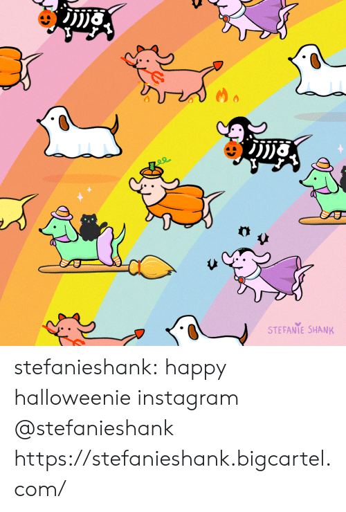 Instagram, Target, and Tumblr: STEFANIE SHANK stefanieshank:  happy halloweenie instagram @stefanieshank https://stefanieshank.bigcartel.com/