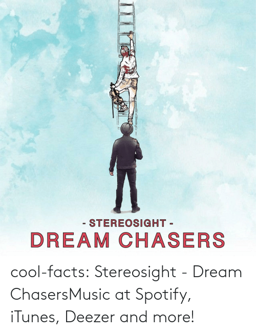 Facts: - STEREOSIGHT -  DREAM CHASERS cool-facts:  Stereosight - Dream ChasersMusic at Spotify, iTunes, Deezer and more!