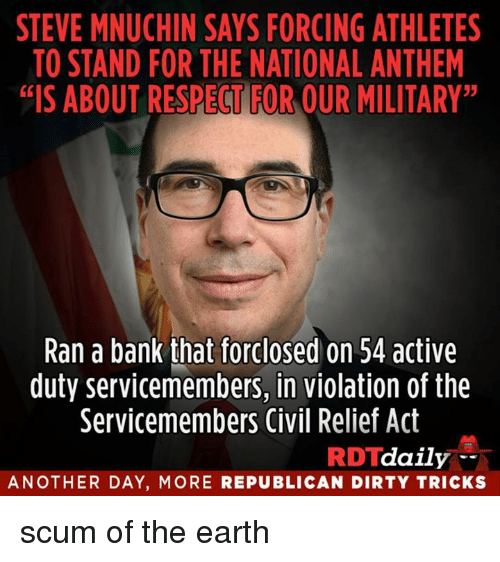 steve mnuchin says forcing athletes to stand for the national 27975425 steve mnuchin says forcing athletes to stand for the national