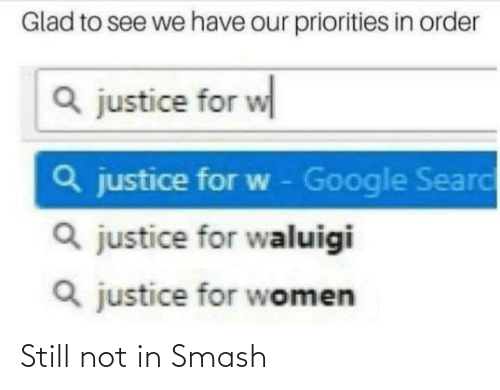 Smashing: Still not in Smash