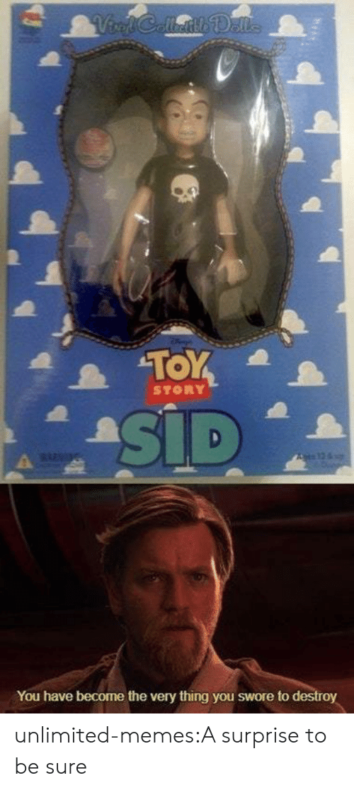 Memes, Tumblr, and Blog: STORY  You have become the very thing you swore to  roy unlimited-memes:A surprise to be sure