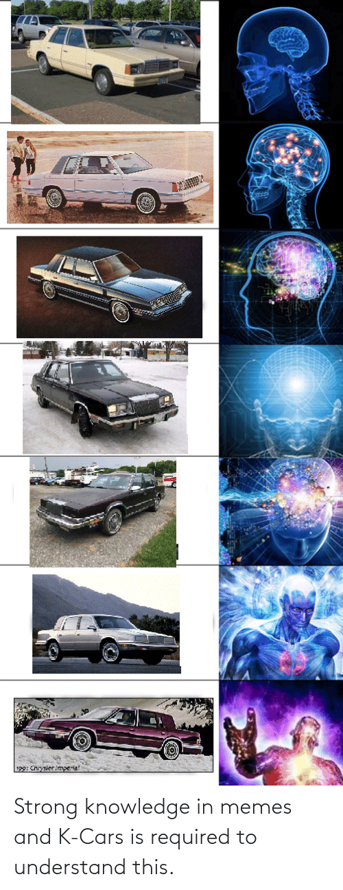 Knowledge: Strong knowledge in memes and K-Cars is required to understand this.