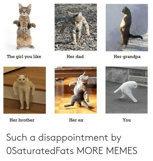 disappointment: Such a disappointment by 0SaturatedFats MORE MEMES