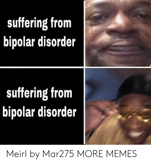 Dank, Memes, and Target: suffering from  bipolar disorder  suffering from  bipolar disorder Meirl by Mar275 MORE MEMES