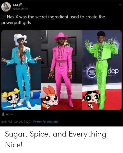 spice: Sugar, Spice, and Everything Nice!