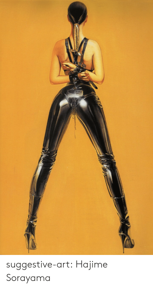 Tumblr, Blog, and Http: suggestive-art: Hajime Sorayama