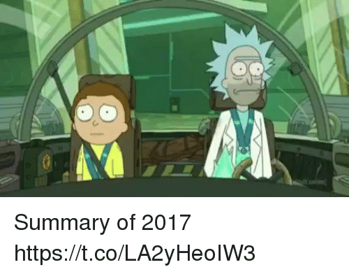 Relatable, Summary, and Https: Summary of 2017 https://t.co/LA2yHeoIW3