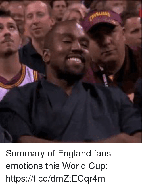England, Soccer, and World Cup: Summary of England fans emotions this World Cup: https://t.co/dmZtECqr4m