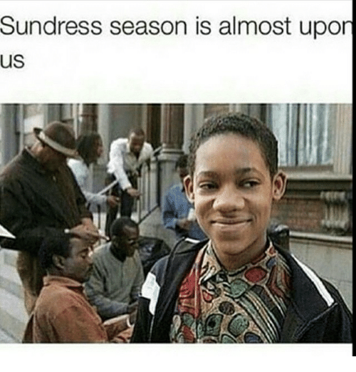 Memes, 🤖, and  Almost: Sundress season is almost upon