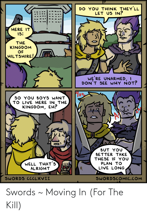 moving in: Swords ~ Moving In (For The Kill)