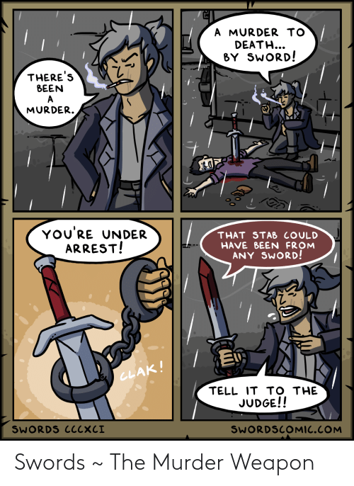 Murder: Swords ~ The Murder Weapon