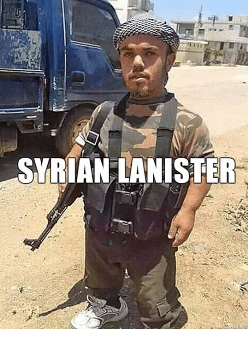 Syrian: SYRIAN LANISTER
