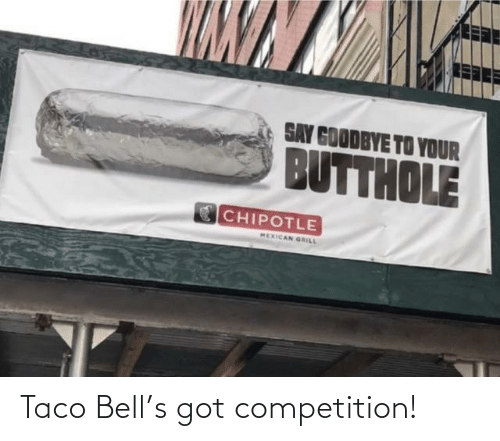 competition: Taco Bell's got competition!