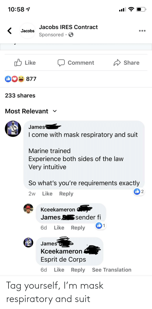 respiratory: Tag yourself, I'm mask respiratory and suit