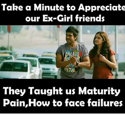 Girls Friends: Take a Minute to Appreciate  our Ex-Girl friends  1976  They Taught us Maturity  Pain,How to face failures