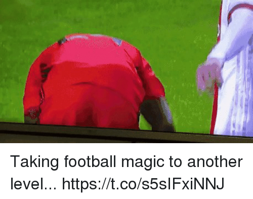 Football, Soccer, and Magic: Taking football magic to another level...  https://t.co/s5sIFxiNNJ