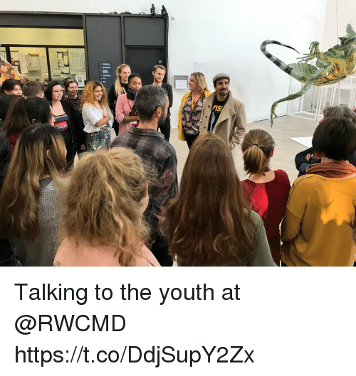 Memes, Youth, and 🤖: Talking to the youth at @RWCMD https://t.co/DdjSupY2Zx