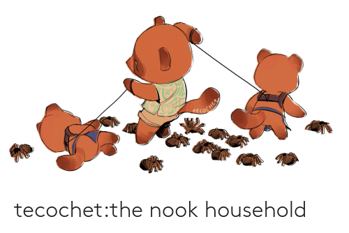 Household: tecochet:the nook household