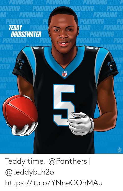 Panthers: Teddy time.  @Panthers | @teddyb_h2o https://t.co/YNneGOhMAu