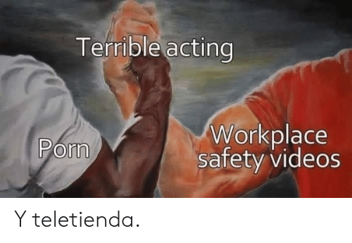 Videos, Acting, and Pom: Terrible acting  Workplace  safety videos  Pom Y teletienda.