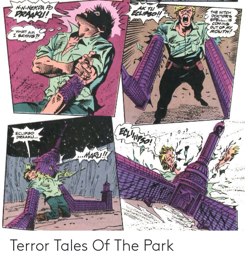 tales: Terror Tales Of The Park