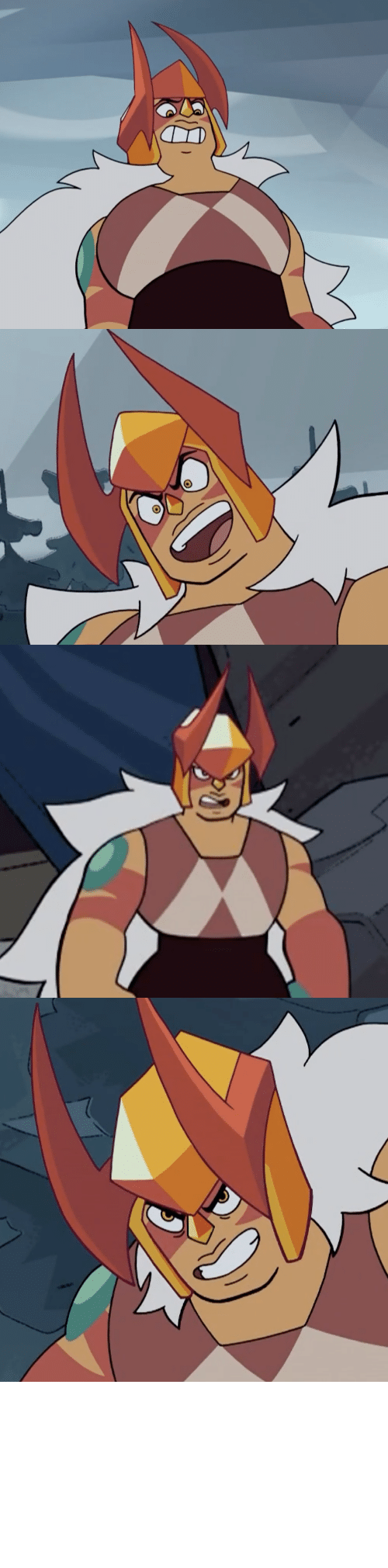 Sick: terrorbeaks: Ok but Jasper's helmet with the horns looks so sick.    Only good thing today apart from Doom Eternal