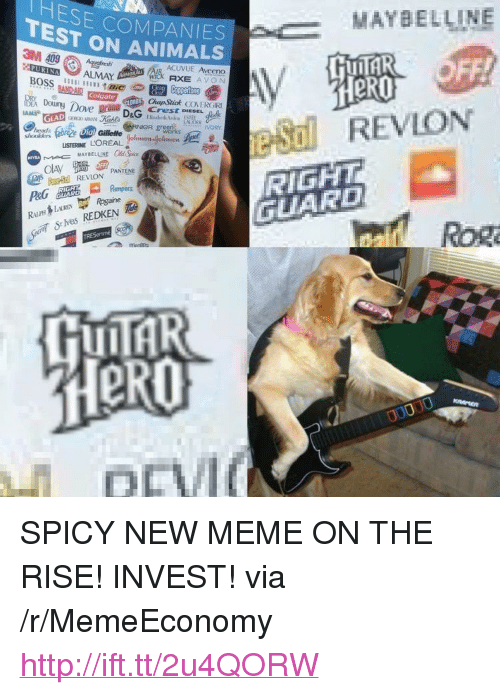 "dag: TESE COMPANIES  TEST ON ANIMALS  MAYBELLINE  ACUVUE Aveeno  eR0  BAND-AIR  ChapStick COVERGRI  Doing Dove prang DaG Creston.sag k  LISTERINE L'OREALasonelme  RIGHT  GUARD  REVLON PANTENE  Sies REDKEN  Rog  LII <p>SPICY NEW MEME ON THE RISE! INVEST! via /r/MemeEconomy <a href=""http://ift.tt/2u4QORW"">http://ift.tt/2u4QORW</a></p>"