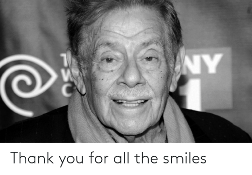 For All: Thank you for all the smiles