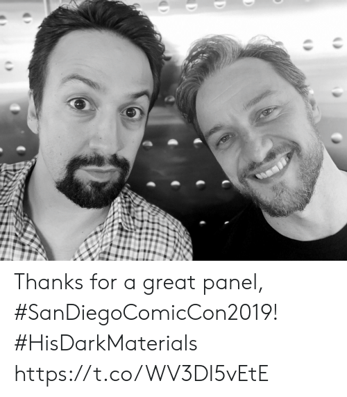 Memes, 🤖, and For: Thanks for a great panel, #SanDiegoComicCon2019! #HisDarkMaterials https://t.co/WV3DI5vEtE