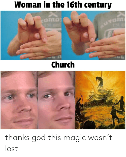 God, Lost, and Magic: thanks god this magic wasn't lost