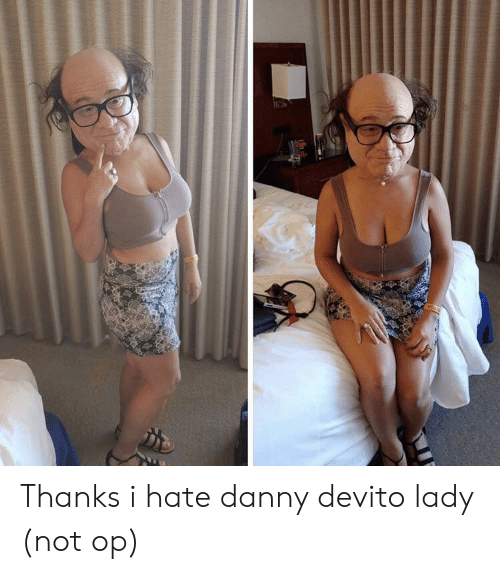 I Hate Danny: Thanks i hate danny devito lady (not op)