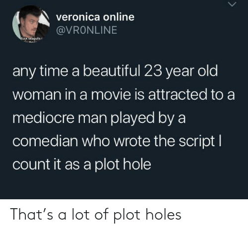 Plot Holes: That's a lot of plot holes