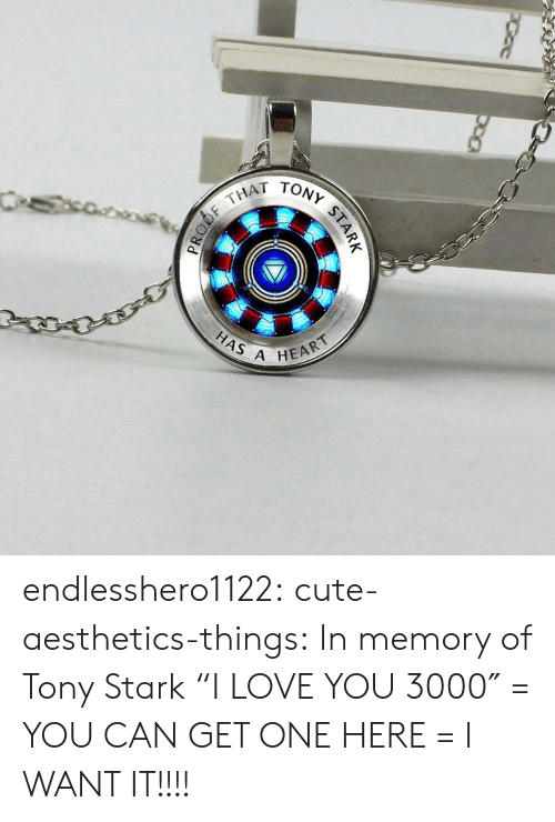 "Cute, Love, and Target: THAT  HAS A  HEART endlesshero1122: cute-aesthetics-things:  In memory of Tony Stark ""I LOVE YOU 3000″ = YOU CAN GET ONE HERE =   I WANT IT!!!!"