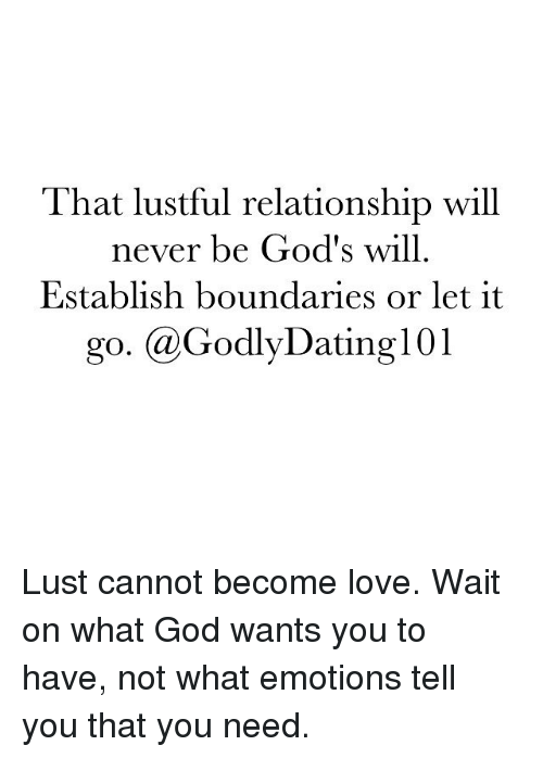 god dating 101