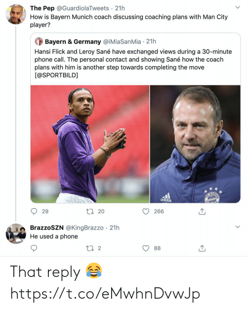 reply: That reply 😂 https://t.co/eMwhnDvwJp