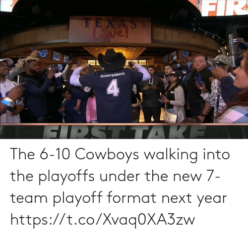 next: The 6-10 Cowboys walking into the playoffs under the new 7-team playoff format next year https://t.co/Xvaq0XA3zw